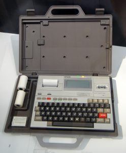Batranul laptop - Epson HX-20