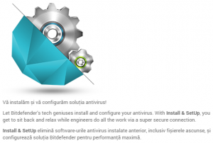 Cea mai buna performanta a Bitdefender - Instalare si configurare
