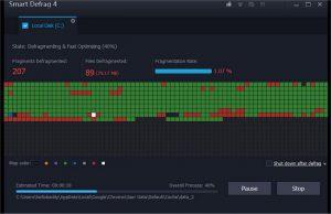 Softuri pentru defragmentarea hardului - SmartDefrag