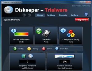 Un program deosebit pentru defragmentare - Diskeeper