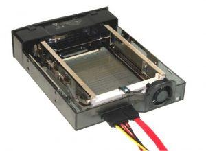 Ce poti face cu hardul vechi din laptop - Rack pentru HDD